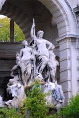 Sculpture jardin zoologique palais longchamp