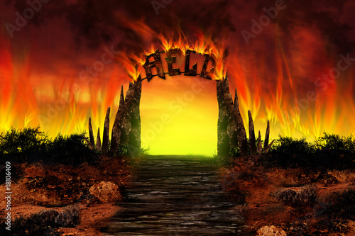 The HELL on fire - 18106409