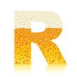 alphabet beer R