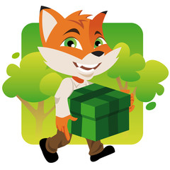 renard cadeau