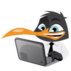 pingouin ordinateur