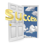 The Door to Opportunity - Success poster