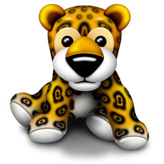 Leopardo Peluche-Plush Baby Leopard-Animal Peluche