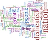 Word cloud - Lincoln