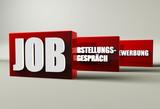 Job, Vorstellungsgespräch, Bewerbung poster