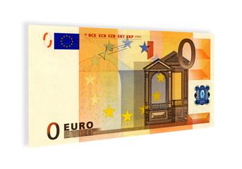 BANCONOTA DA ZERO EURO