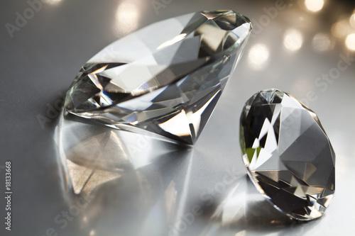 Crystal diamond - 18133668