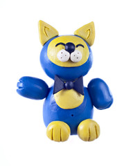Plasticine cat. Chinese horoscope