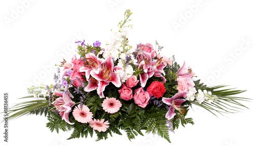 Keuken foto achterwand Gerbera composition florale