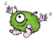 Monster, Bakterie, Vire, Bazille, Alien, Krankheit - 18136645