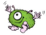 Monster, Bakterie, Vire, Bazille, Alien, Krankheit