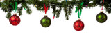 Christmas ornament hanging from garland - 18141241