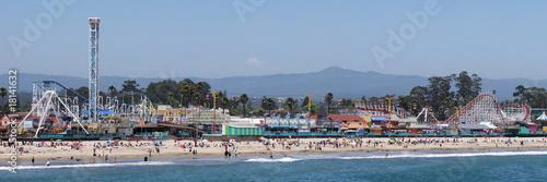 Leinwanddruck Bild Santa Cruz Boardwalk; Santa Cruz, California