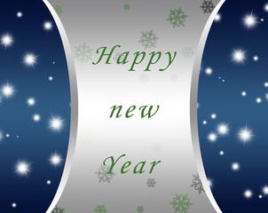 fondo plata para año nuevo