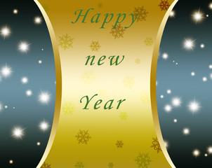 fondo año nuevo con brillo