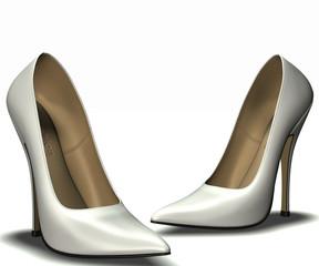 High Heel white