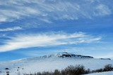 snowbound mountain