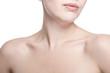 closeup shot of neck and shoulder