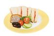 Sandwich and pie