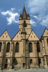 Roumania - Transilvania - Sibiu church