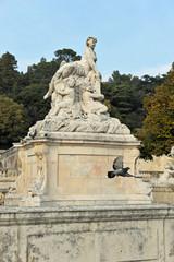 Jardin public fontaine de Nimes