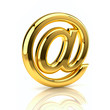 Golden email sign