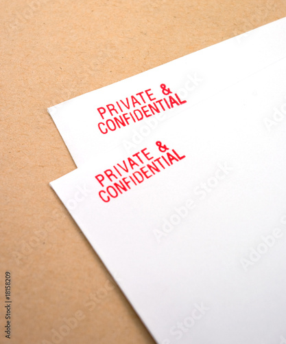 private and confidential letters