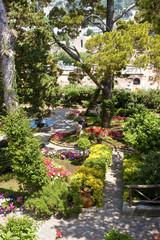 Public Garden From Above