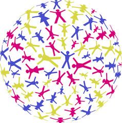 Menschen Kreise