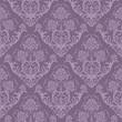roleta: Seamless purple floral wallpaper