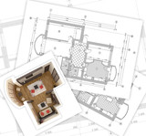 plans and 3D - 18169044