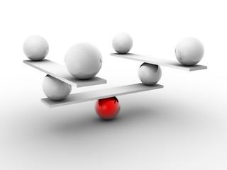 Sphere in balance