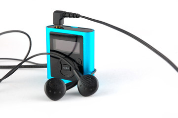 blue mp3 player