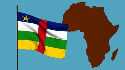 Bandiera africa centrale