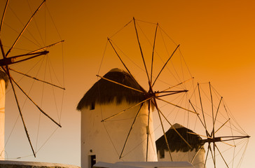 Windmills of Mykonos, Greece