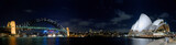 Sydney Night Panorama - Fine Art prints