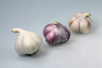 Three Garlic