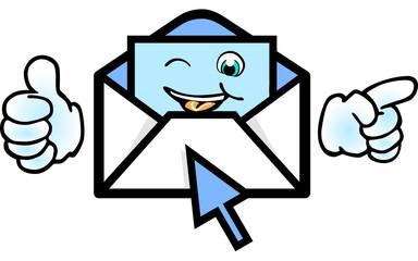 mail erhalten