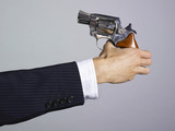arme a feu suicide revolver poster