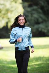 junge Frau bei sport