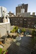 new york apartment, roof terrace