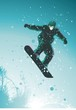 roleta: snowboarder in action