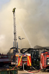 Feuerwehr im Einsatz