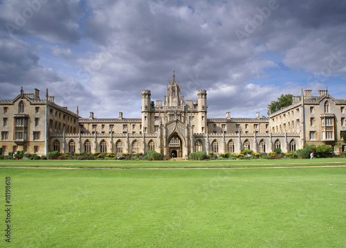 St. Johns College New Court, University of Cambridge