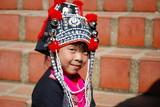Jeune fille des minorites ethniques
