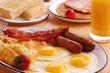 Leinwanddruck Bild - Breakfast