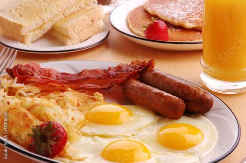 Leinwanddruck Bild Breakfast