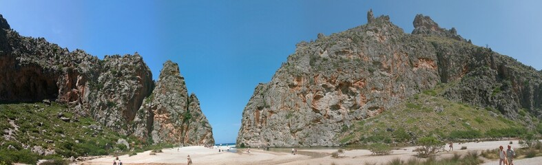 Mallorca Sa Calobra Panorama