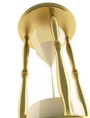illustration of a sandglass – hourglass
