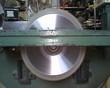 Sierra de disco de un banco de carpintero ebanista.